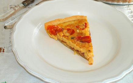 Receta Quiche de tomate y queso