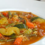 Sopa minestrone - RECETA
