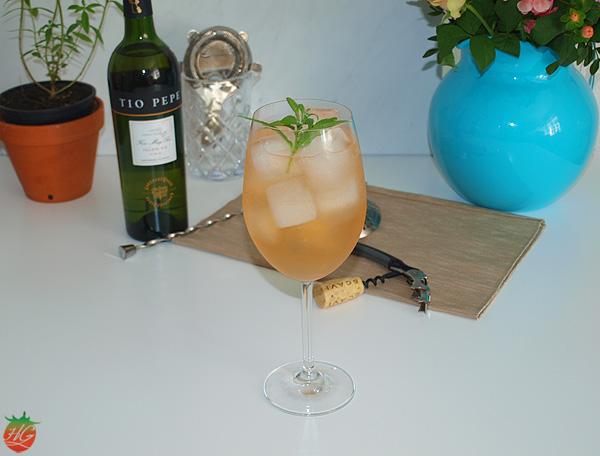 Receta Spritz de hierba luisa
