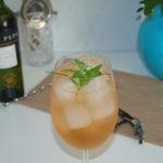Verbena limón Spritz - RECETA