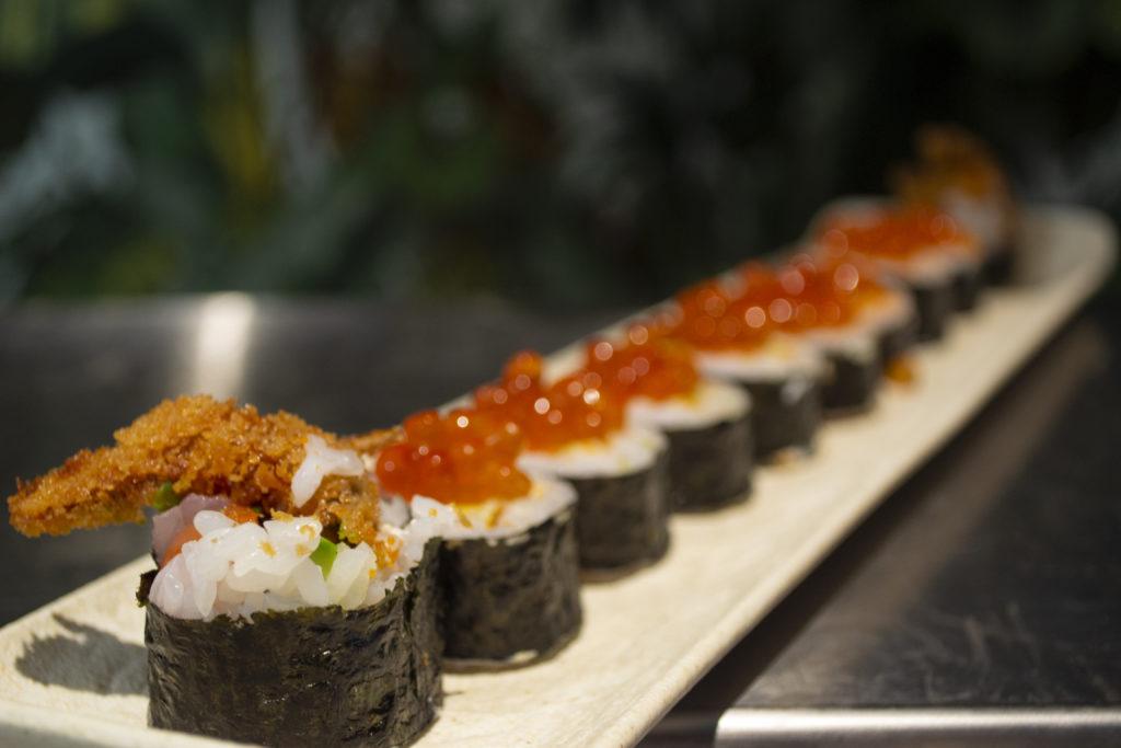 Buen sushi en Madrid