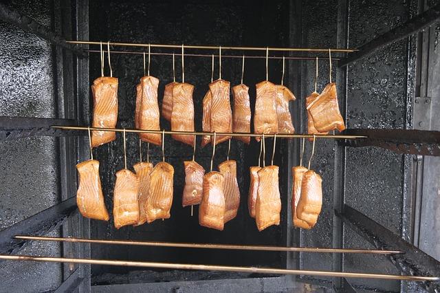 Un producto gourmet, el salmón ahumado