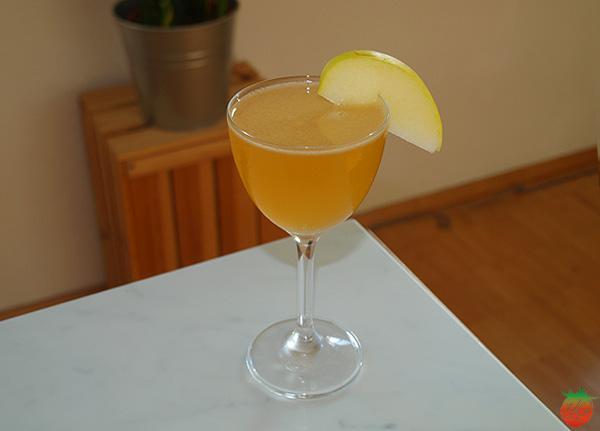Cóctel de calvados, triple seco y limón HortoGourmet