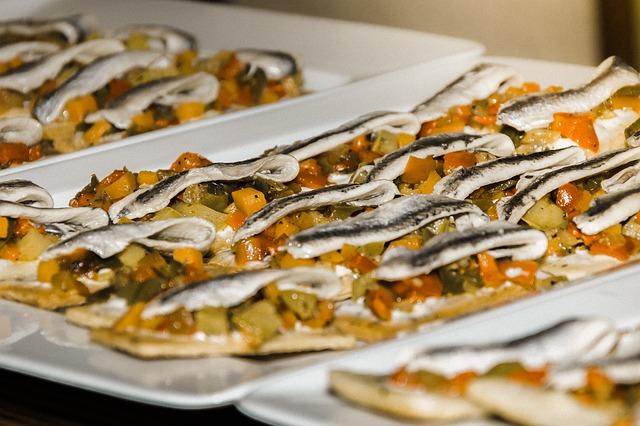 Conservas gourmet, anchoas