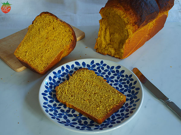 Pan de calabaza especiado
